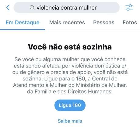 Twitter lança ferramenta para combater a violência contra a mulher
