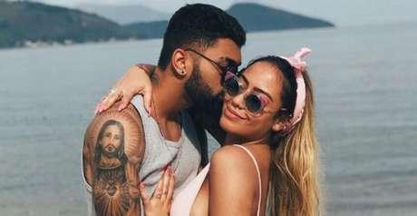 Gabigol e Rafaella ficaram juntos entre indas e vindas (Reprodução/ Instagram)