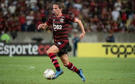 'Talvez se fosse anos atrás, com a pressão da torcida, poderia anunciar um novo treinador só por anunciar', diz lateral-esquerdo (Foto: Alexandre Vidal / Flamengo)