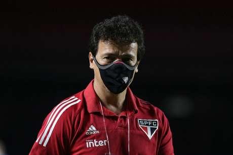 Fernando Diniz viu o São Paulo ser superado em casa pelo Mirassol - FOTO: Rubens Chiri/saopaulofc.net
