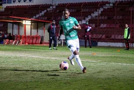 Waguininho fez o gol do Bugre no empate em 1 a 1 com o Ituano pelo Troféu do Interior (Foto: Divulgação/Guarani)