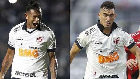 Guarín e Raul têm o futuro indefinido no Vasco (Foto: Rafael Ribeiro/Vasco)