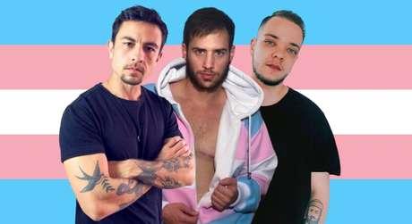 Luca Scarpelli, Paulo Vaz e Lucca Najar: a representatividade de homens trans é cada vez maior e mais influente nas redes sociais e na mídia
