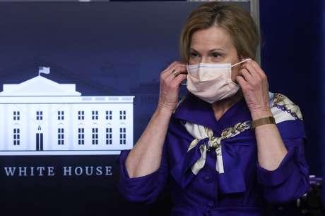 Coordenadora da Força-Tarefa do Coronavírus da Casa Branca, Deborah Birx  22/05/2020 REUTERS/Leah Millis