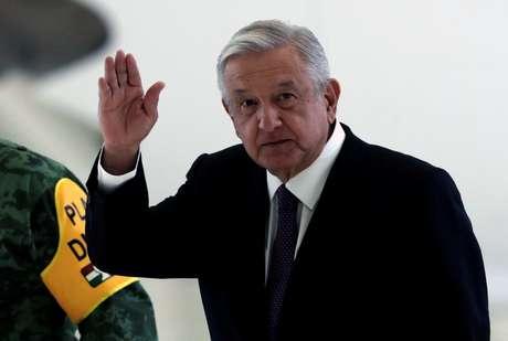 Presidente do México, Andres Manuel Lopez Obrador. 27/7/2020. REUTERS/Henry Romero