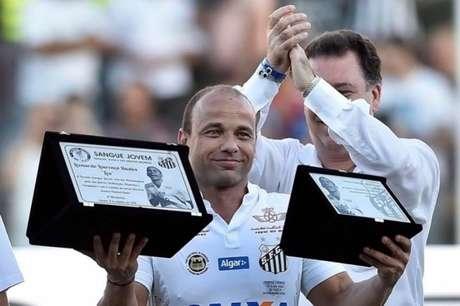 Léo usou seu Instagram para pedir mudanças no Santos (Foto: Ivan Storti/ Santos FC)