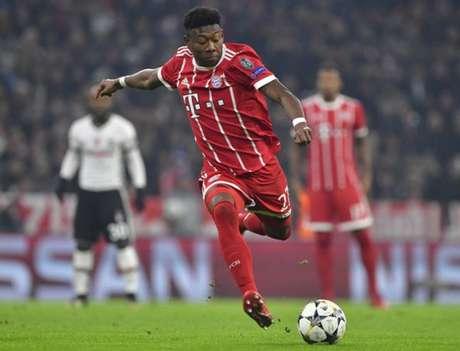 Na atual temporada, Alaba atuou em 30 partidas, marcou um gol e deu duas assistências (Foto: John MacDougall / AFP)