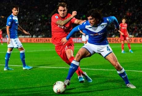 Sandro Tonali é uma das maiores promessas do futebol italiano e aos 20 anos pode se transferir para a Inter de MIlão (Foto: MIGUEL MEDINA / AFP)