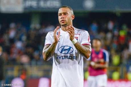 Memphis Depay, do Lyon, pode reforçar o Borussia Dortmund na próxima temporada (Foto: Damien LG/Lyon)