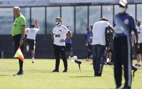 Ramon Menezes já comandou o Vaso em dois jogos oficiais e em outros dois jogos-treino (Foto: Rafael Ribeiro/Vasco)