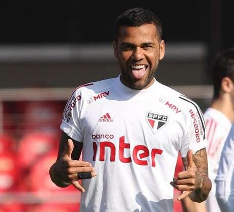 Daniel Alves é o principal jogador do elenco tricolor (Foto: Divulgação/São Paulo)