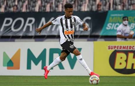 Keno fez sua estreia com a camisa do Atlético-MG no duelo contra o Patrocinense, na quarta-feira, 29 de julho-(Pedro Souza/Atlético-MG)
