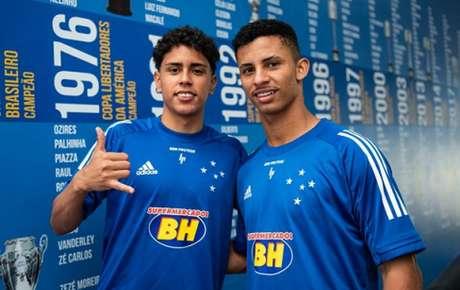 Alejandro e Danilo engrossam as fileiras de jovens atletas do Cruzeiro em 2020-(Gustavo Aleixo/Cruzeiro)