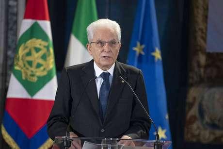 Mattarella pediu para que italianos 'não baixem a guarda' nesse momento da pandemia