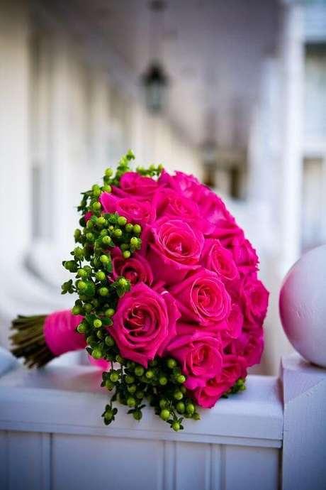 68. Buquê de rosas pink – Via: Pinterest