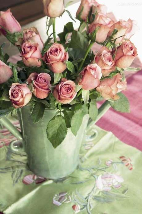 69. Buquê de rosas mini – Via: Pinterest