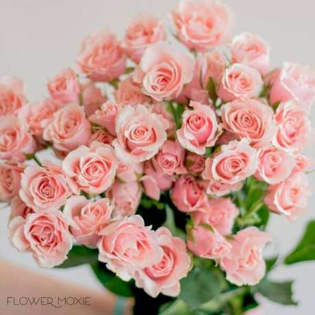 23. A flor rosa no tom cor de rosa é feminino e lindo – Via: Flower moxie