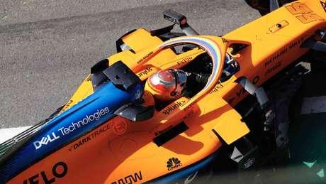 Ao lado de Räikkönen, Carlos Sainz foi o que mais deu voltas na atividade da tarde. Foram 35