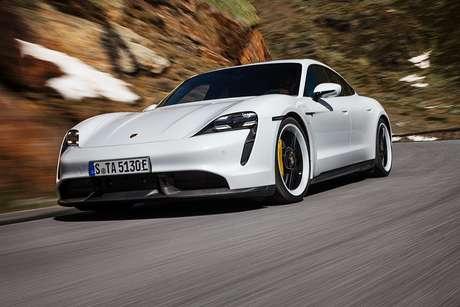 Porsche Taycan: primeiro carro elétrico da marca alemã.