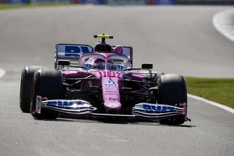 Lance Stroll comandou a sexta-feira de treinos do GP da Inglaterra