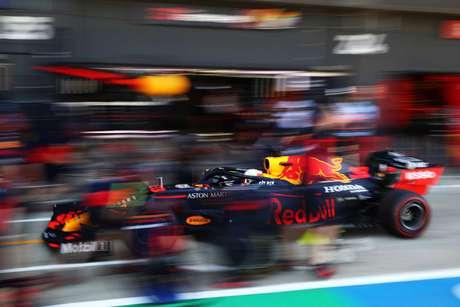 Max Verstappen trabalhou apenas em ritmo de corrida