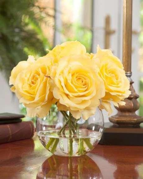 28. A rosa amarela é alegre – Via: Pinterest