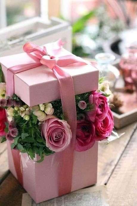 36. As rosas são lindos presentes – Via: Pinterest