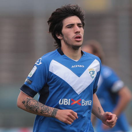 """Segundo o portal """"Sport Mediaset"""", a Inter de Milão está próxima de contratar Sandro Tonali, do Brescia (Foto: Divulgação/Brescia)"""
