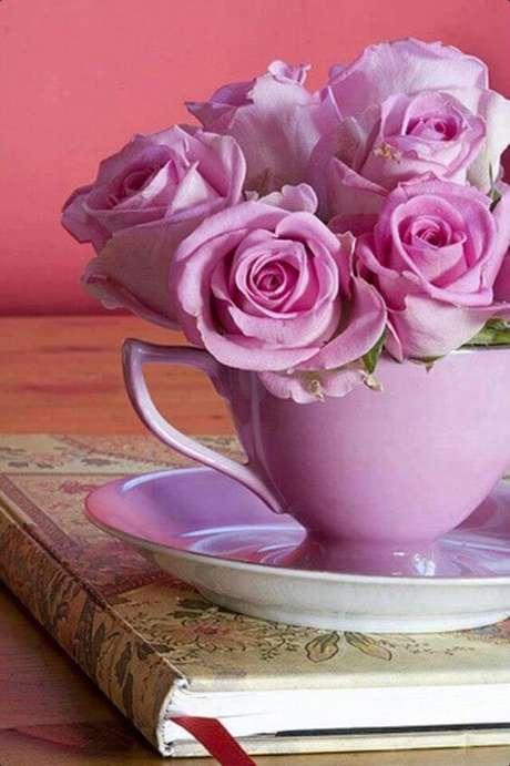 59. Flores rosa violeta – Via: Pinterest