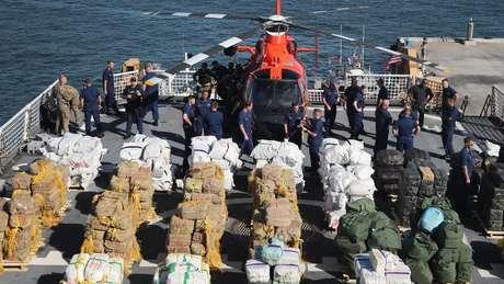 Às vezes, as apreensões dos Estados Unidos custam aos traficantes dezenas de milhões de dólares.