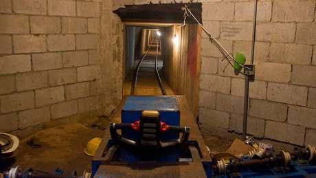 Túneis de transferência de drogas transfronteiriços cada vez mais sofisticados foram detectados nos últimos anos.