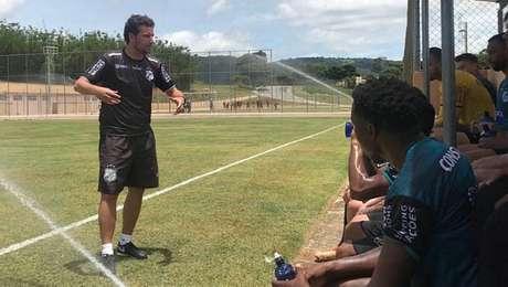 Elano, técnico do Inter de Limeira