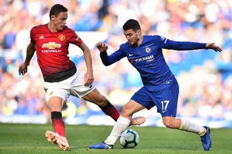 Matic quer ganhar com o Manchester United o que já venceu no Chelsea (Foto: Glyn Kirk / AFP)