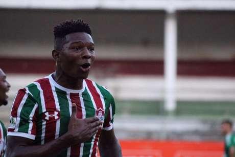 Lucas Ribeiro, o Macula, foi cedido em definitivo para o clube português (Foto: Luis Miguel Ferreira/Agencia TFFA)