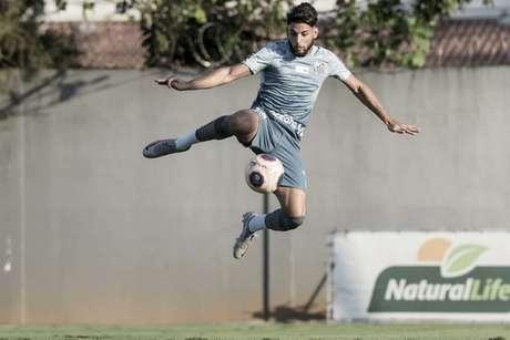 O contrato de Yuri Alberto com o Santos havia se encerrado nesta sexta-feira (31) (Foto: Ivan Storti/Santos FC)