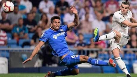 Leandro Cabrera começou a temporada no Getafe e foi para Espanyol em janeiro (AFP)
