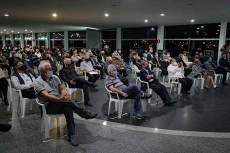 Os conselheiros aprovaram as contas da gestão Sérgio Santos Rodriguesdo ano de 2019-(Divulgação/Atlético-MG)