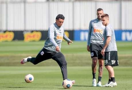 Corinthians encerrou sua preparação para enfrentar o Mirassol, neste domingo (Foto: Rodrigo Coca/Ag. Corinthians)