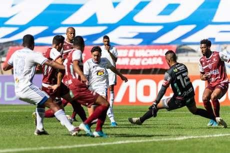 O Cruzeiro teve dificuldades diante do Patrocinense, mesmo com um time mais entrosado e com tempo maior de preparação física, mas saiu vencedor do duelo-(Bruno Haddad/Cruzeiro)