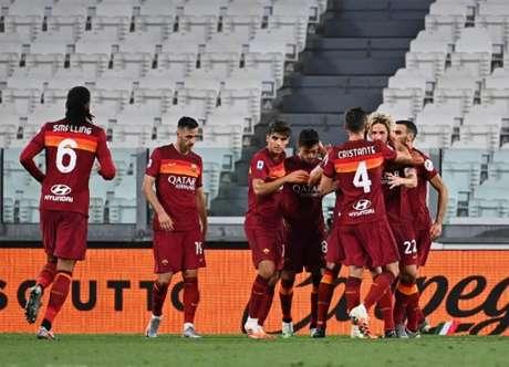 Roma venceu a Juventus na última rodada do Campeonato Italiano (Foto: Isabella BONOTTO / AFP)