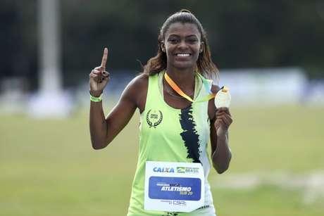 Aos 20 anos, Chayenne Pereira sonha com uma vaga nos Jogos Olímpicos de Tóquio, em 2021 (Wagner Carmo/CBAt)