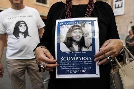 Emanuela Orlandi está sumida desde 1983, quando tinha 15 anos