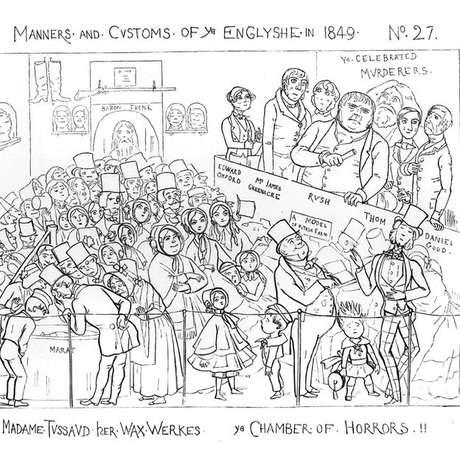 Câmara de horror, ilustração