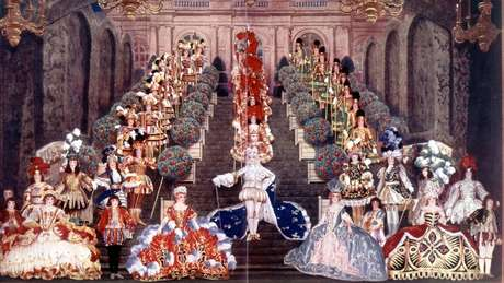 Na corte de Versalhes, havia poucas oportunidades de a burguesia estar lado a lado com a aristocracia.