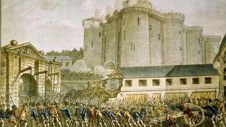 A queda da Bastilha mudou completamente o foco da exibição de figuras de cera.