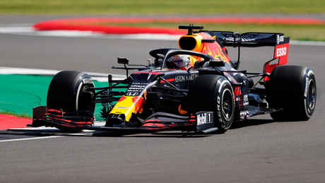 Max Verstappen na Inglaterra
