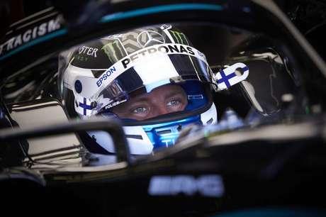 Valtteri Bottas foi o mais rápido do TL3 do GP da Inglaterra, mas larga em segundo