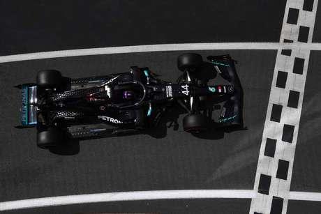 No GP da Inglaterra, Lewis Hamilton conquistou a vitória 87 da sua laureada carreira