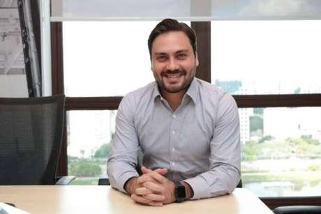 O pré=candidato do Novo à Prefeitura de SP, Filipe Sabará