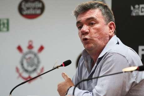 Andrés Sanchez ironizou os críticos do Corinthians após vaga na final (Foto: Peter Leone/O Fotográfico/Lancepress!)
